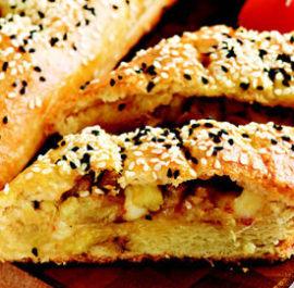 Patlıcanlı ve Dil Peynirli Börek