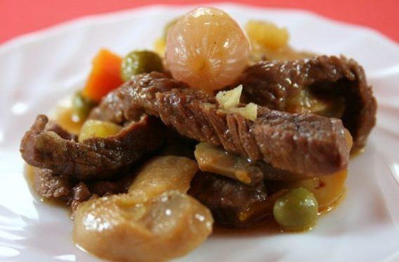 Biftek Marengo