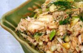 Baharatlı Tuna Salatası