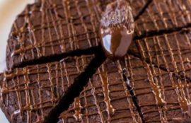 Hurmalı Şekersiz Browni