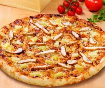 Tavuklu Pratik Pizza