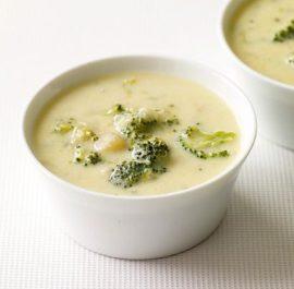 Yoğurtlu-Pirinçli Brokoli Çorbası